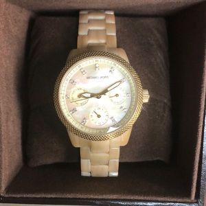 Michael Kota Mother of Pearl Watch